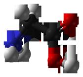 Glycine 3D balls